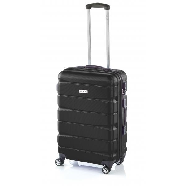 John Travel Double2 maleta mediana 4R negra