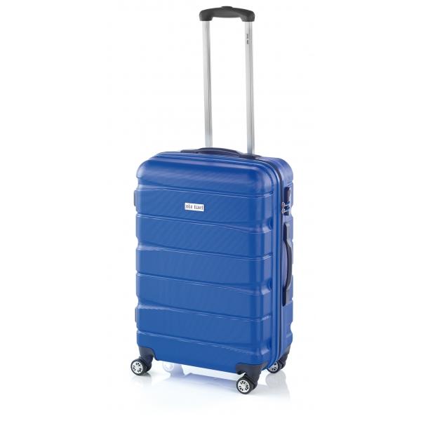 John Travel Double2 maleta grande 4R azul
