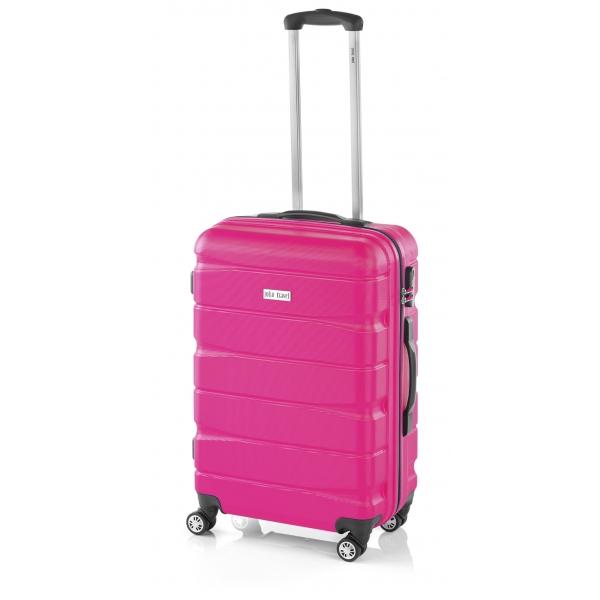 John Travel Double2 maleta grande 4R fucsia