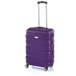 John Travel Double2 maleta grande 4R lila