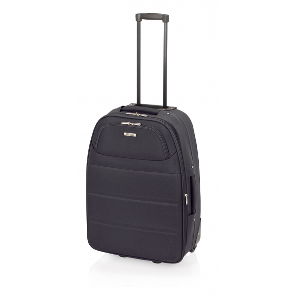 John Travel Ticket maleta cabina expandible 2R negro