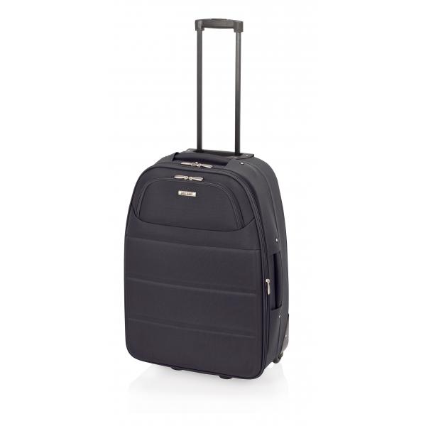 John Travel Ticket maleta mediana expandible 2R negra