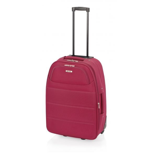 John Travel Ticket maleta grande expandible 2R rojo
