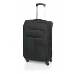John Travel Square maleta cabina 4R negro