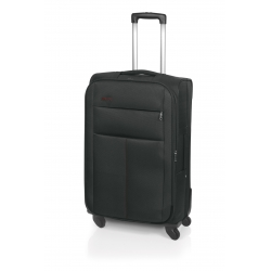 John Travel Square maleta grande expandible 4R negro