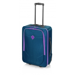 John Travel Pocket maleta mediana 2R azul