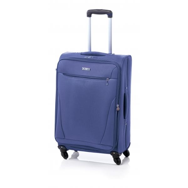 John Travel Bersi maleta mediana expandible 4R azul