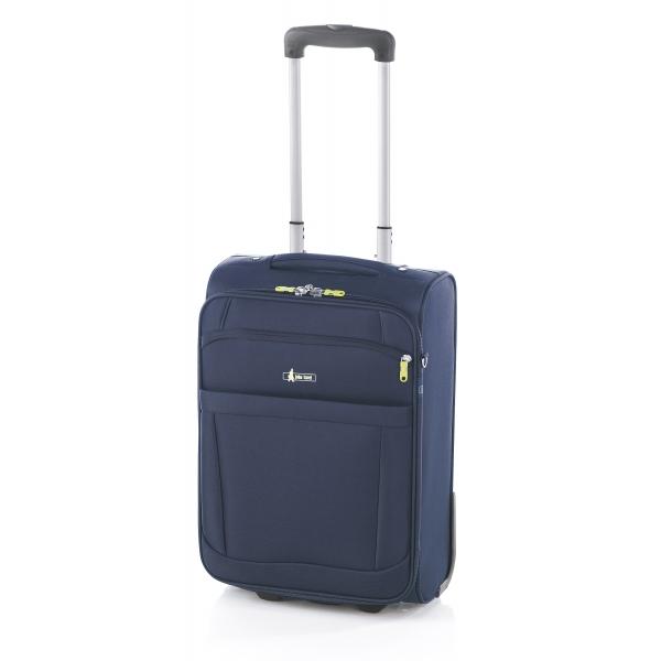 John Travel Bermus maleta grande expandible 2R azul