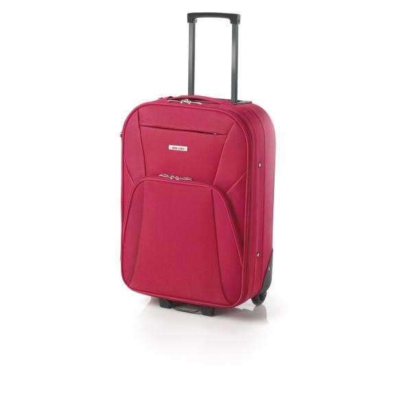 John Travel Syna maleta mediana extensible 2R roja