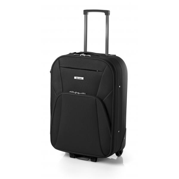John Travel Syna maleta mediana extensible 2R negro