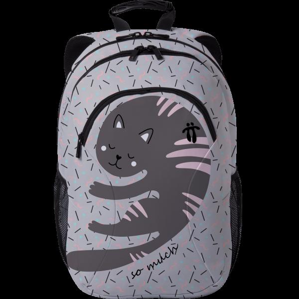 Totto - Mochila diseño exclusivo - Corazón Felino 1