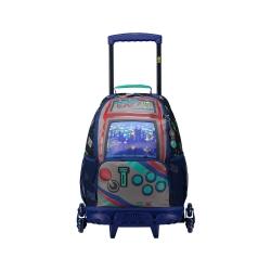 Totto - Mochila escolar con 3 ruedas - Gameru