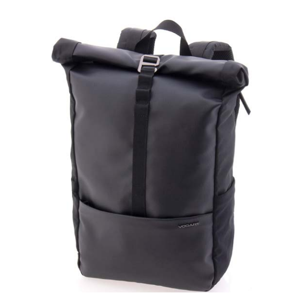 Vogart EBORN  mochila roll-top negro