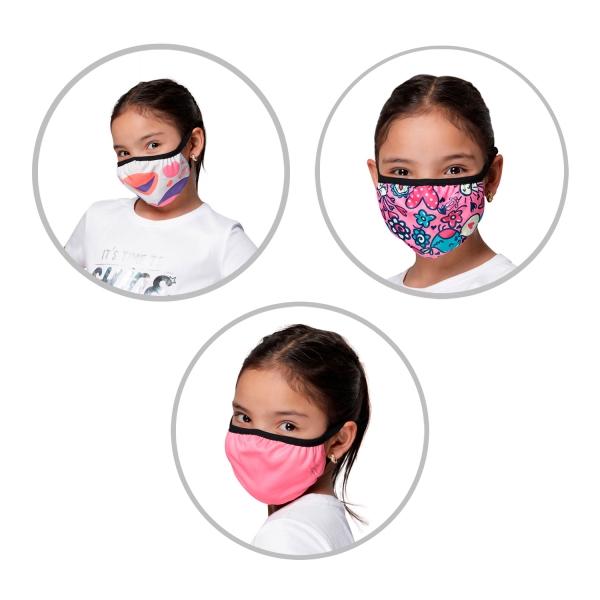 Totto-Set de cobertores faciales infantiles
