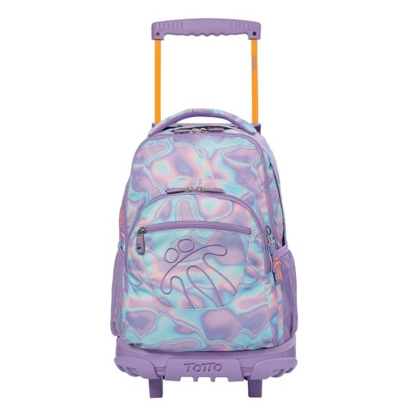 Totto-Mochila escolar con ruedas - Renglon