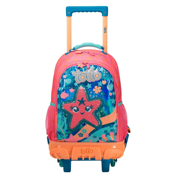 Totto-Mochila escolar pequeña ruedas - Jelly Belly