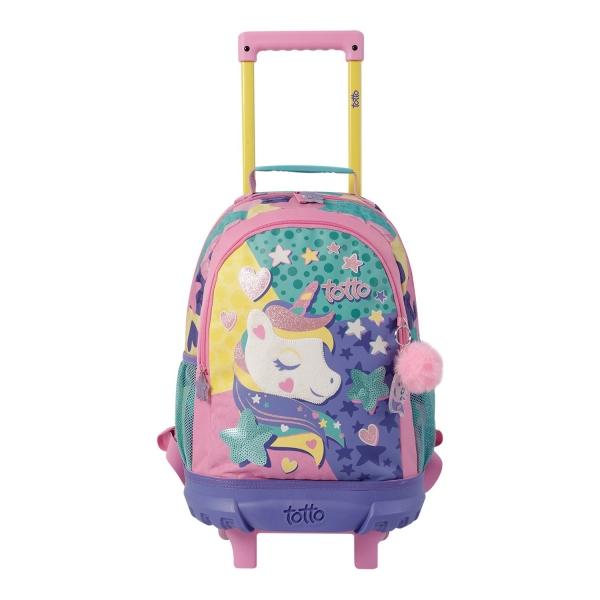 Totto-Mochila escolar pequeña con ruedas - Twinkie