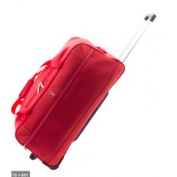 Gladiator bolsa con ruedas Metro- rojo