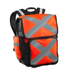 Caribee Pilbara Orange mochila alta visibilidad