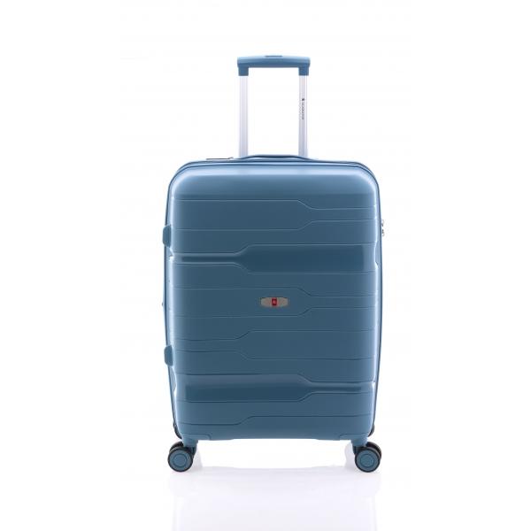 Gladiator Boxing maleta mediana extensible 4R azul bondi