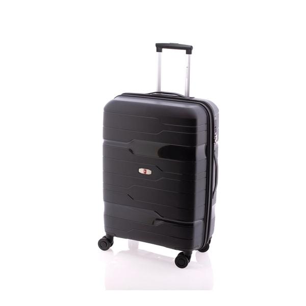 Gladiator Boxing maleta mediana extensible 4R negro