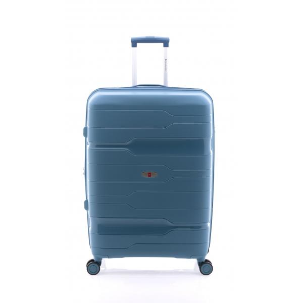 Gladiator Boxing maleta grande extensible 4R azul bondi