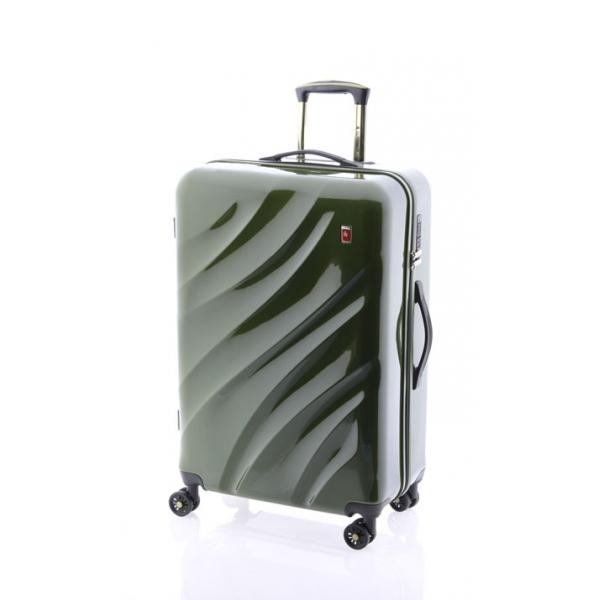 Gladiator Space maleta mediana 4R verde