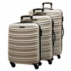 Juego de maletas Greenwich Milan blanco