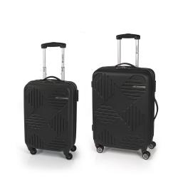 Gabol Kiev Jgo 2 maletas 4R Negro