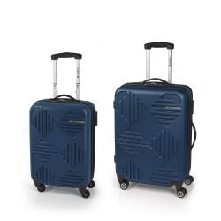 Gabol Kiev Jgo 2 maletas 4R Azul