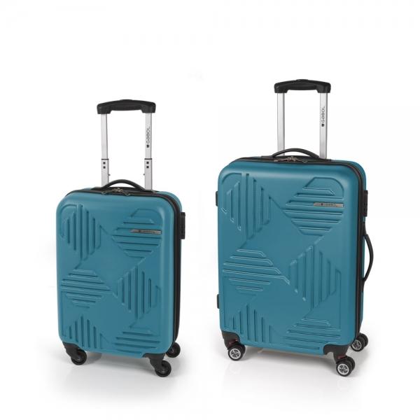 Gabol Kiev Jgo 2 maletas 4R Turquesa
