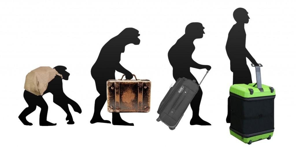 evolucion de la maleta