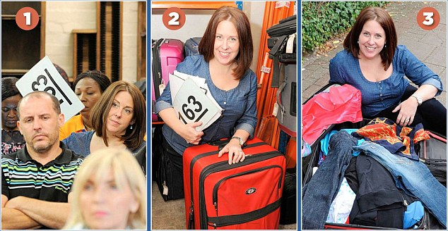subasta de maletas perdidas