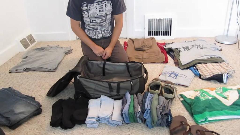 hacer las maletas como un pro
