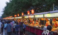 puestos comida callejera