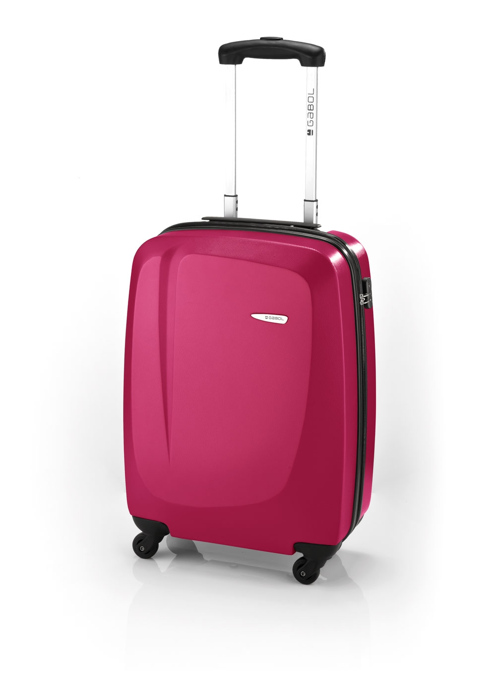 Gabol Line maleta cabina 4R fucsia