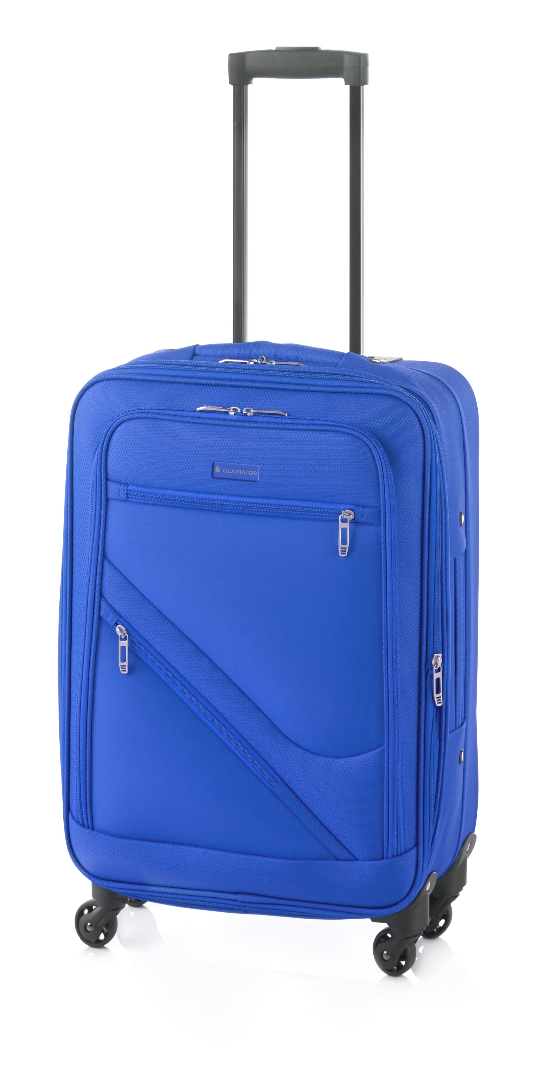 Gladiator Timelapse maleta mediana 4R expandible azul
