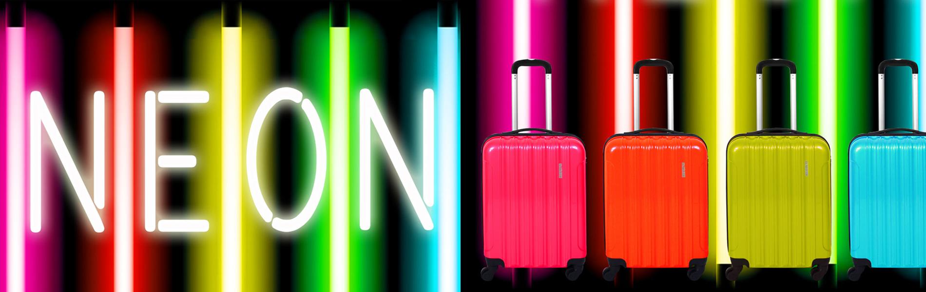 Maletas Neon
